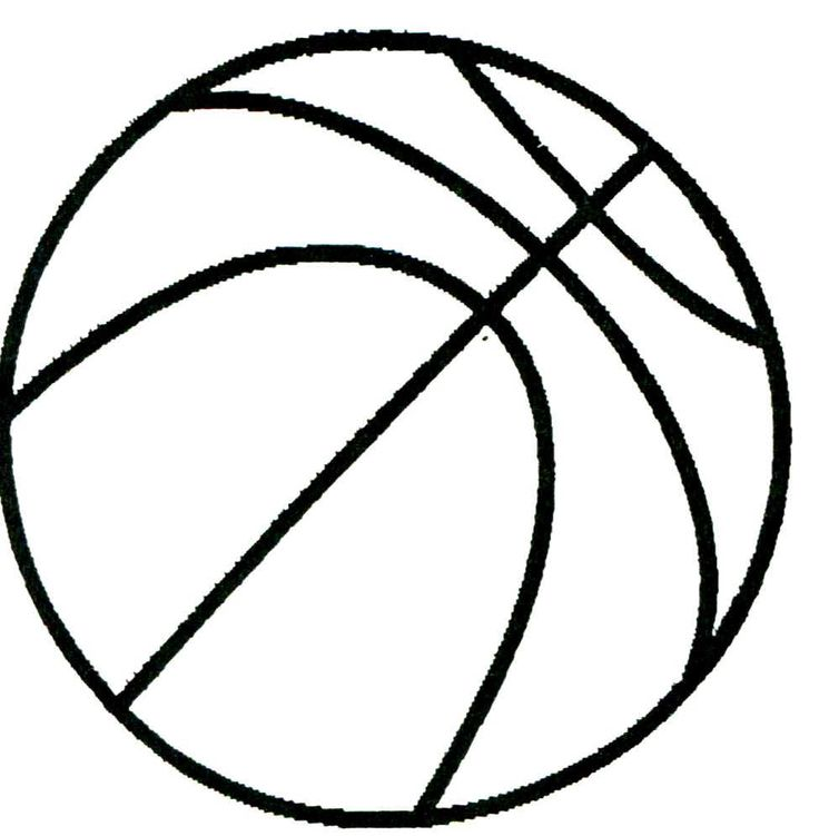 736x751 Basketball Drawings Printable Basketball Drawing Drawings Clipart