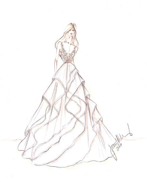 500x618 Bridal Gowns, Wedding Dresses By Alvina Valenta