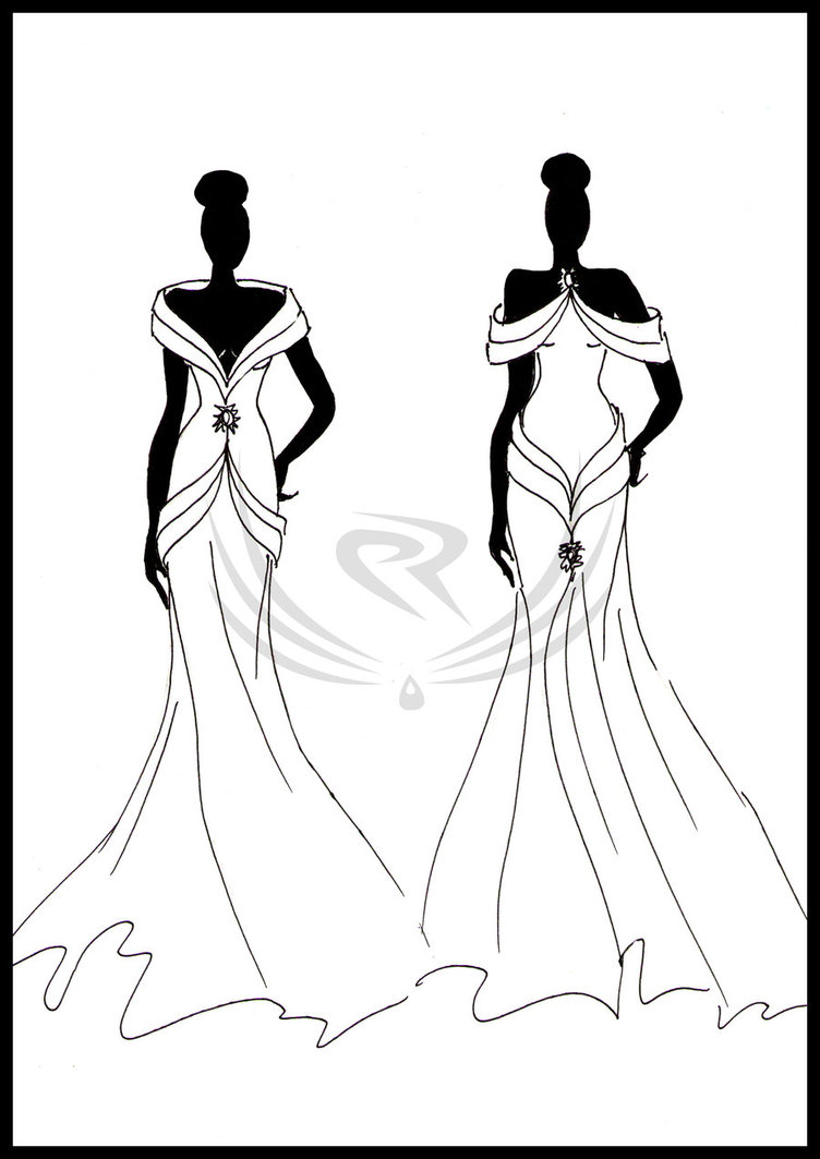 752x1063 Fashion Design Evening Gown By Elro66