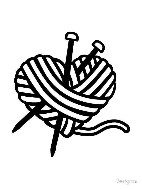 600x800 Ball Of Yarn Drawing