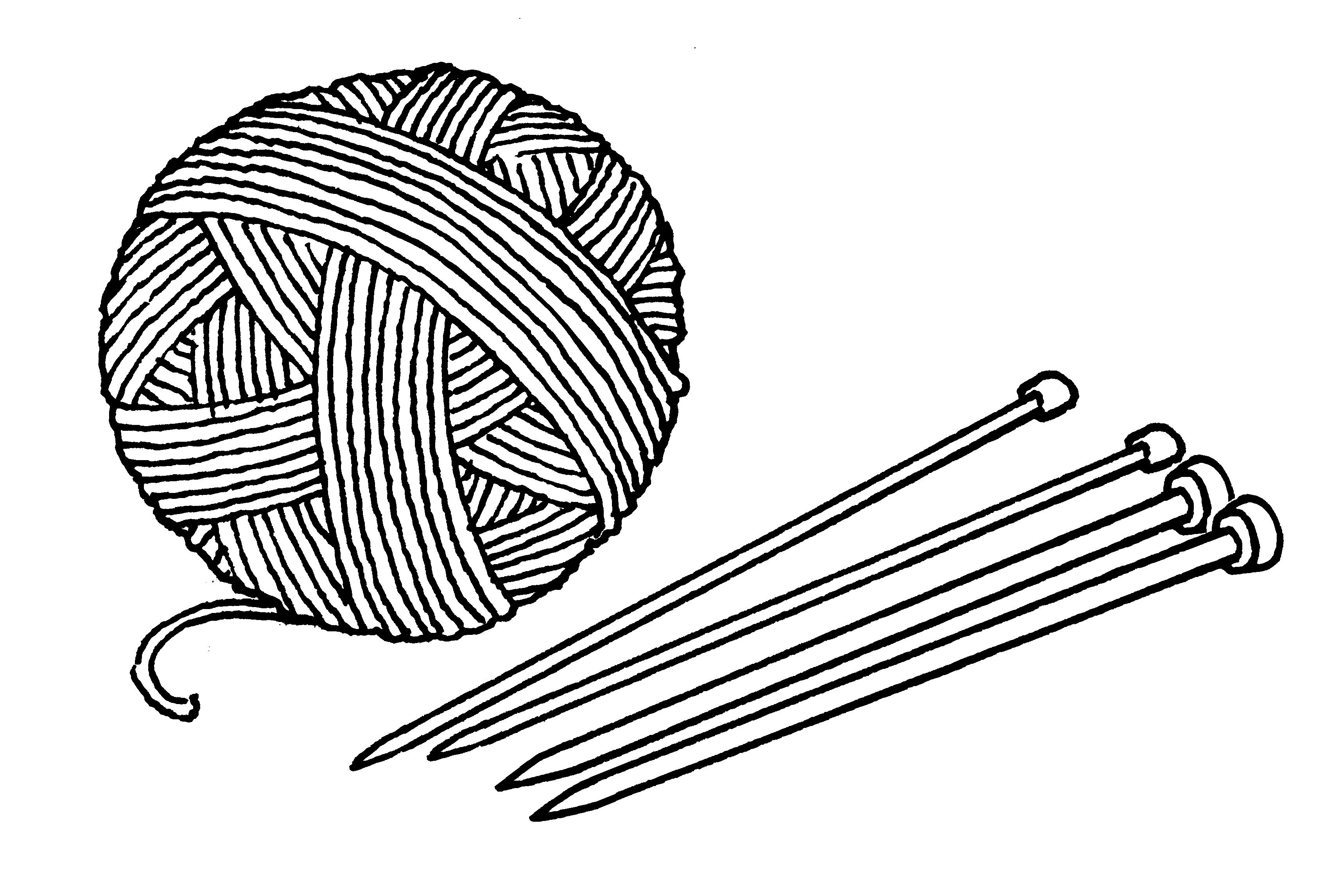 3432x2292 Png Yarn And Knitting Needles Transparent Yarn And Knitting