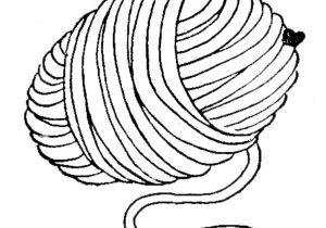 300x210 Ball Of Yarn Drawing Ball Of Yarn Drawing Scribbles Designs