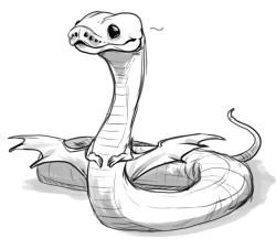 250x217 Art Sketch Doodle Snake Noodle Ball Python Pencilcat