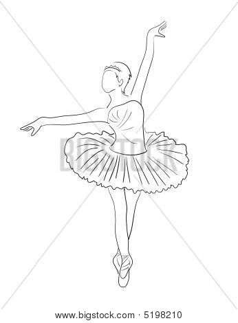 346x470 How To Draw A Ballerina For Kids How To Draw A Weasel For Kids