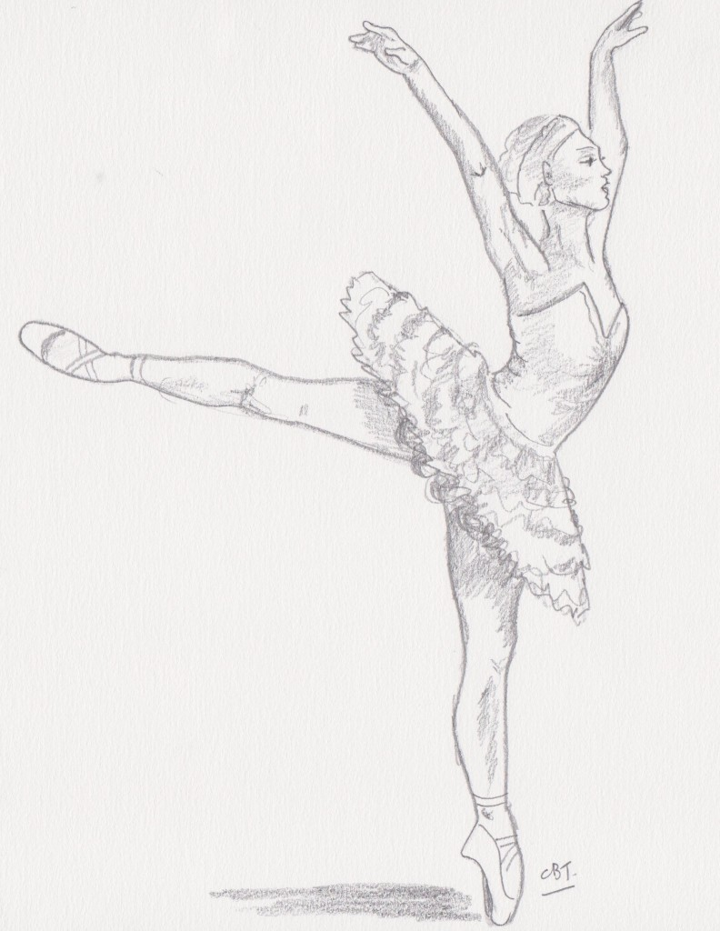 792x1024 How To Draw A Dancer