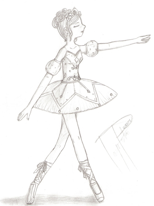 500x670 Nutcracker Ballerina By Stitchcometcreations