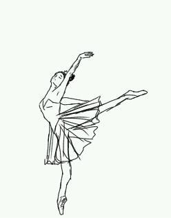 248x316 Ballerina Sketch 1 By Meyuki11