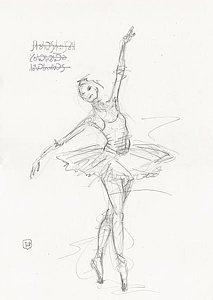 213x300 Ballerina Drawings