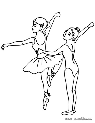 363x470 Ballet Dancing Class Coloring Page Ballerina Pinterest