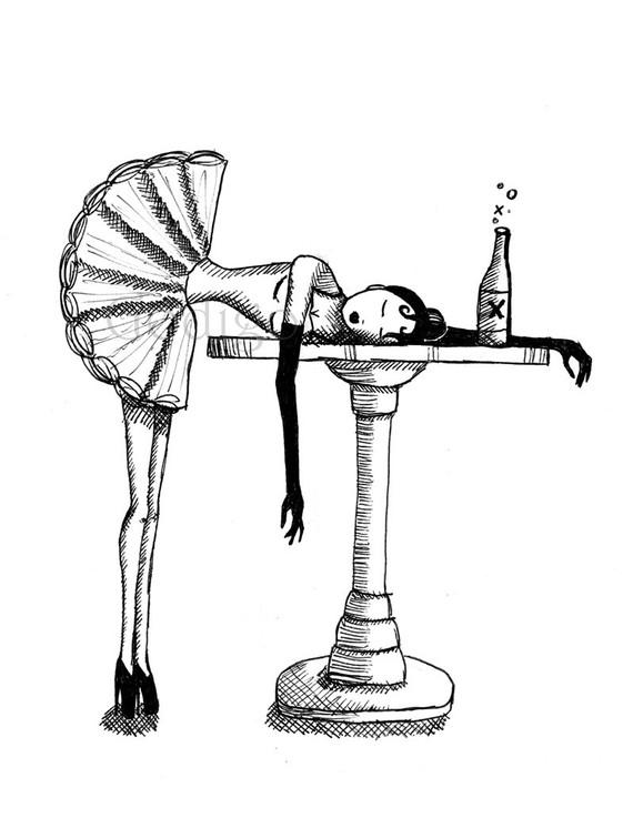 570x737 Drunken Ballerina