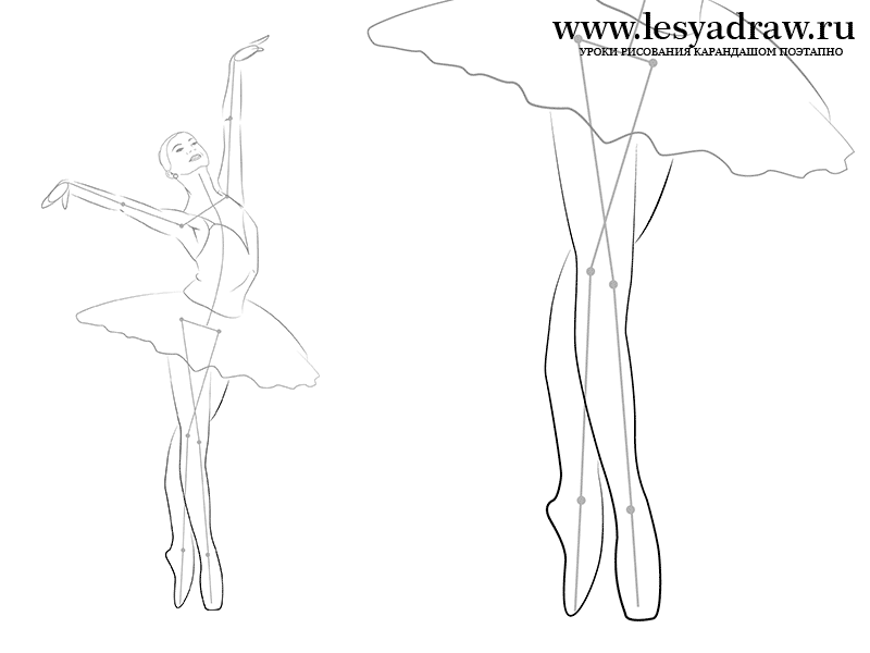 800x600 How To Draw The Ballerina