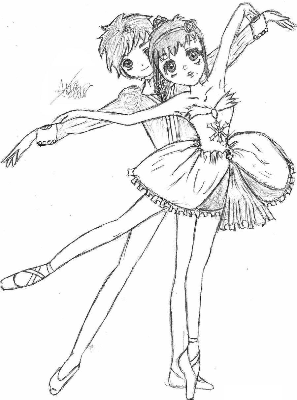 900x1214 Ballerina By Kimidoll