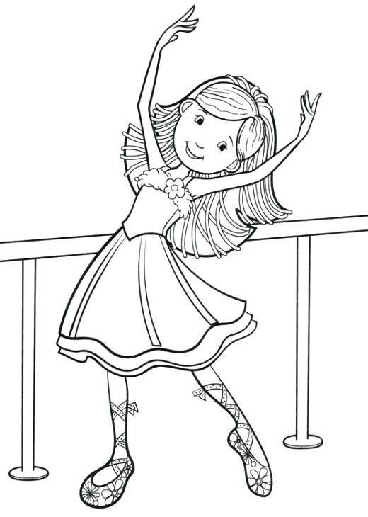 520x730 Amazing Dance Coloring Pages Print Ballerina Girl Sky Ballet