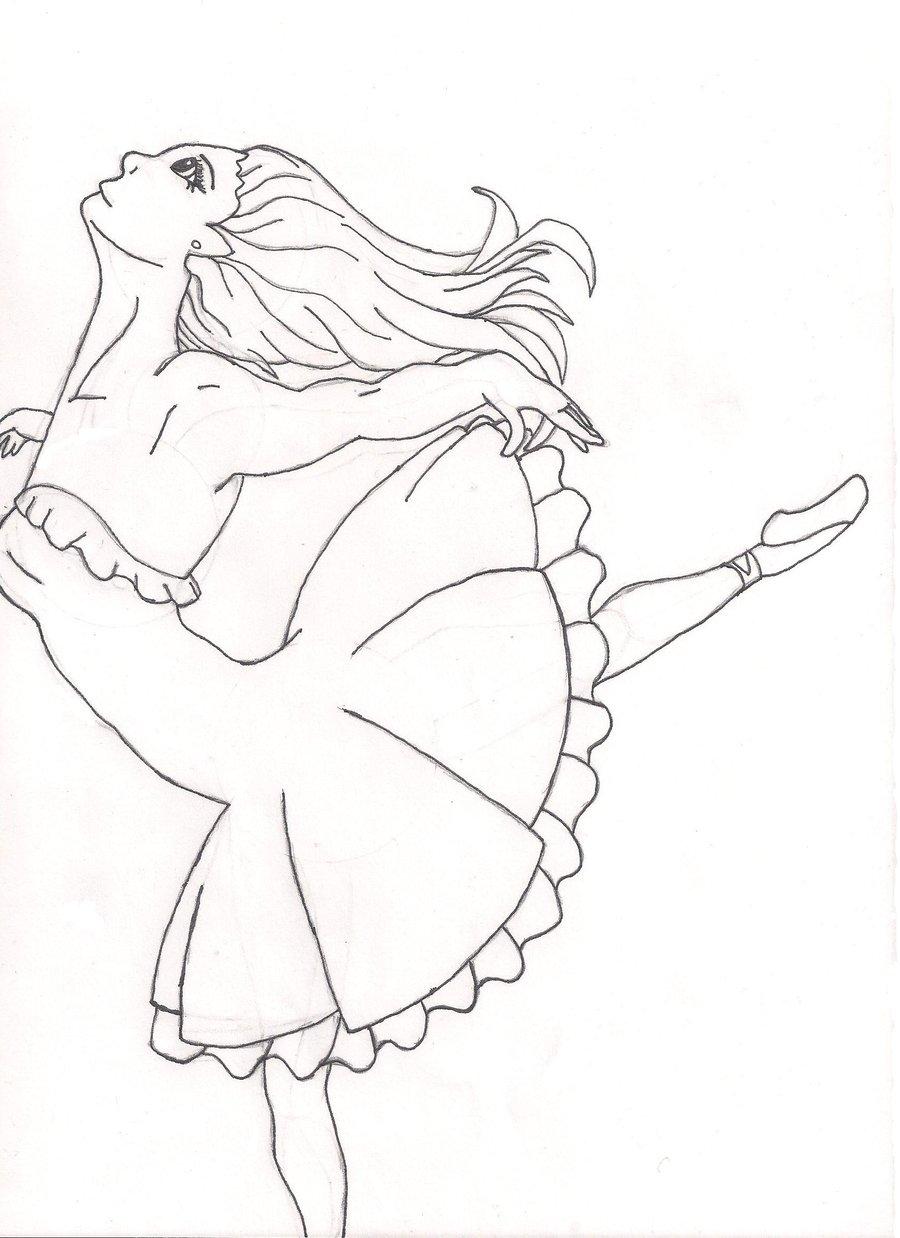 900x1238 My Little Ballerina By Oceanisuna