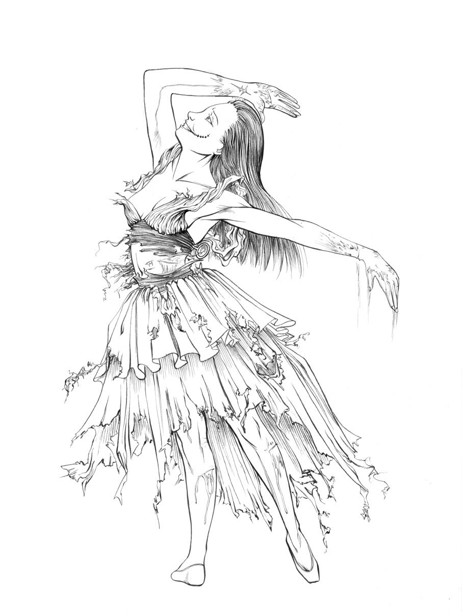 906x1200 Rainbowblight Bloody Ballerina By Renonevada