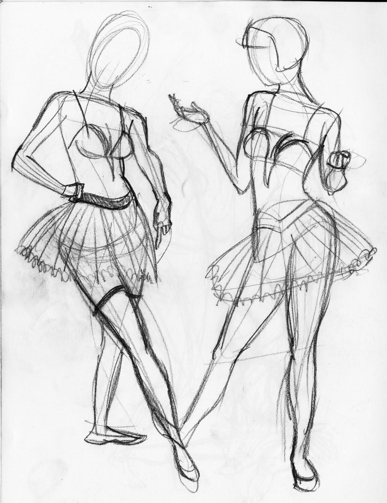 1233x1600 Severin's Sketch Blog Ballerina Sketches