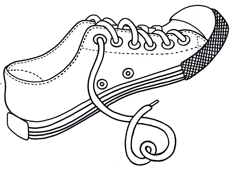 970x706 Coloring Pages Shoes Kid Size Ballerina Shoes Coloring Pages