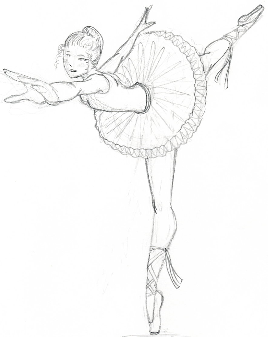 885x1110 How To Draw A Ballerina Youtube. How To Draw A Ballerina Youtube