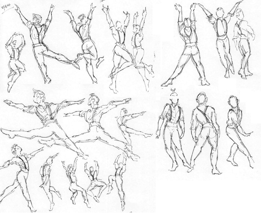 989x808 Ballet Dancers By Neumatic