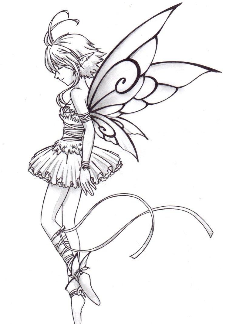 745x1071 Fairy Ballet Dancer By Chronos89