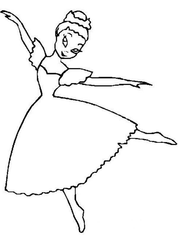 600x801 Swab Dance Ballerina Coloring Page Color Luna