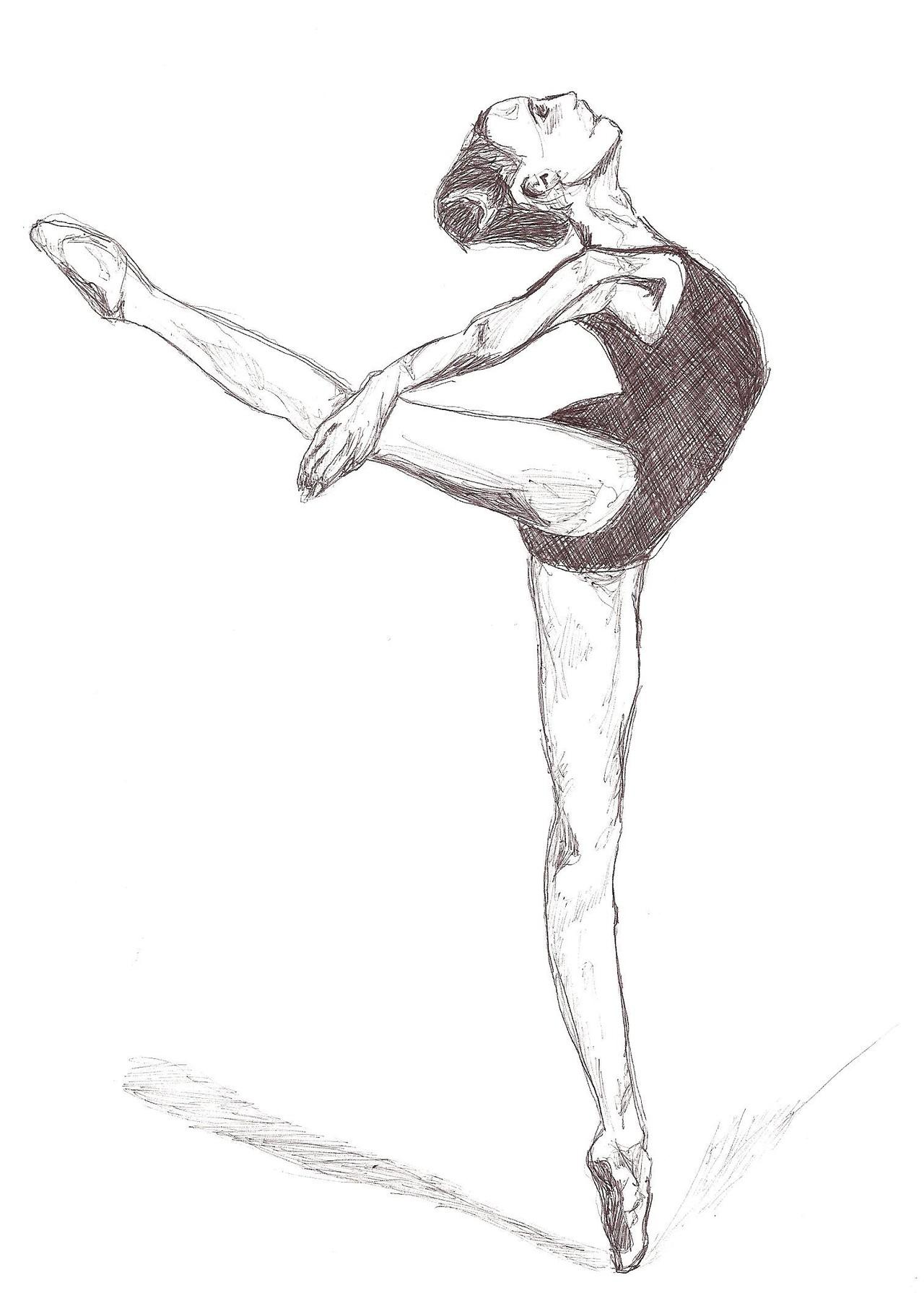 1280x1791 Ballet Draw Albums Deleted User Celebrating Dance
