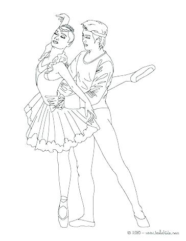 364x470 Lovely Ballet Positions Coloring Pages And Ballet Dancer Coloring