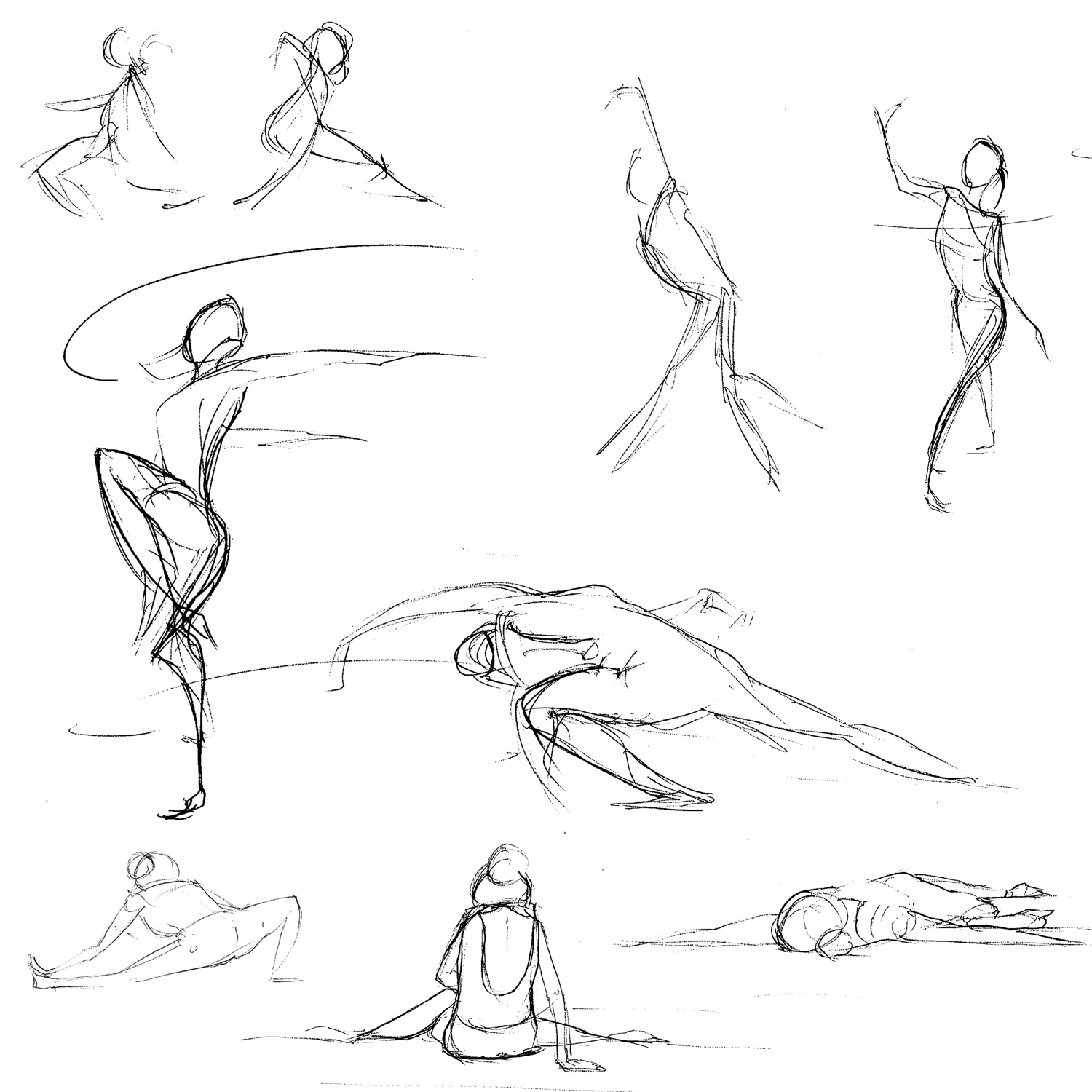 Ballet Dancers Drawing at GetDrawings.com | Free for personal use ...