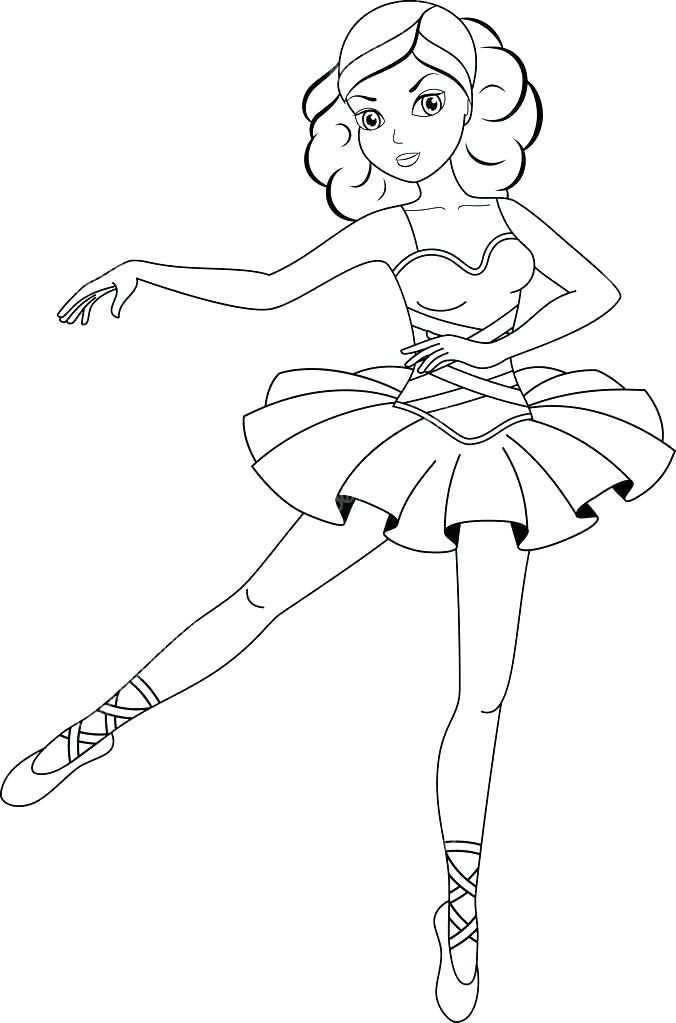 676x1023 Ballet Positions Coloring Pages Download Ballerina Page Line