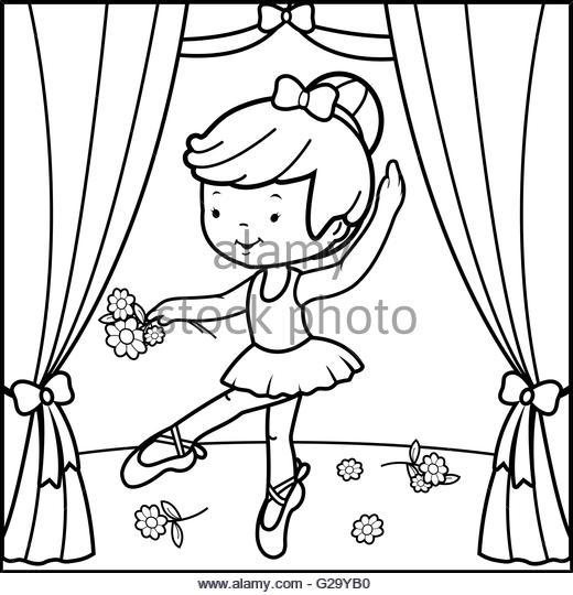 520x540 Drawing Ballet Dancer Stock Photos Amp Drawing Ballet Dancer Stock