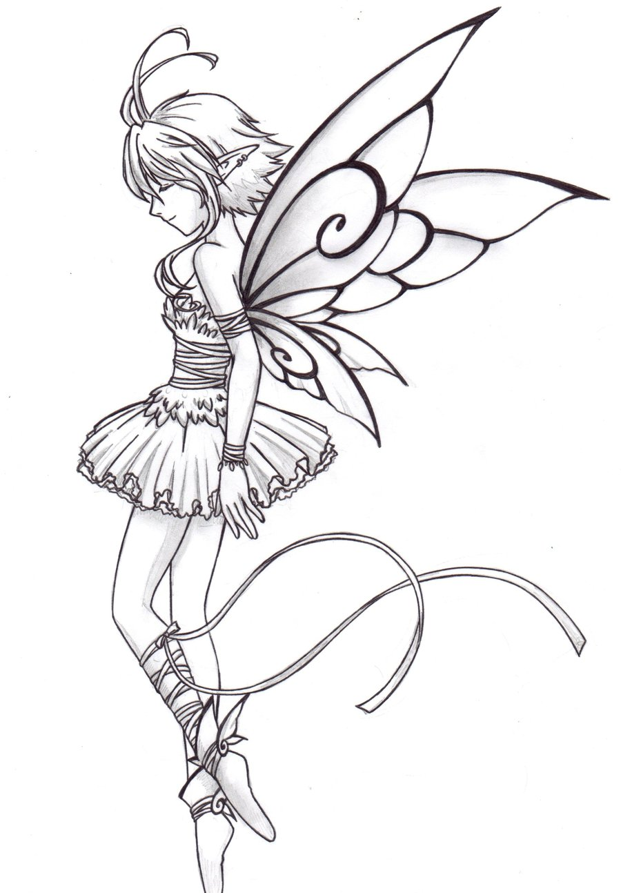 900x1294 Fairy Ballet Dancer By Chronos89