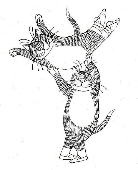 469x576 Goreyana Ballet Cats