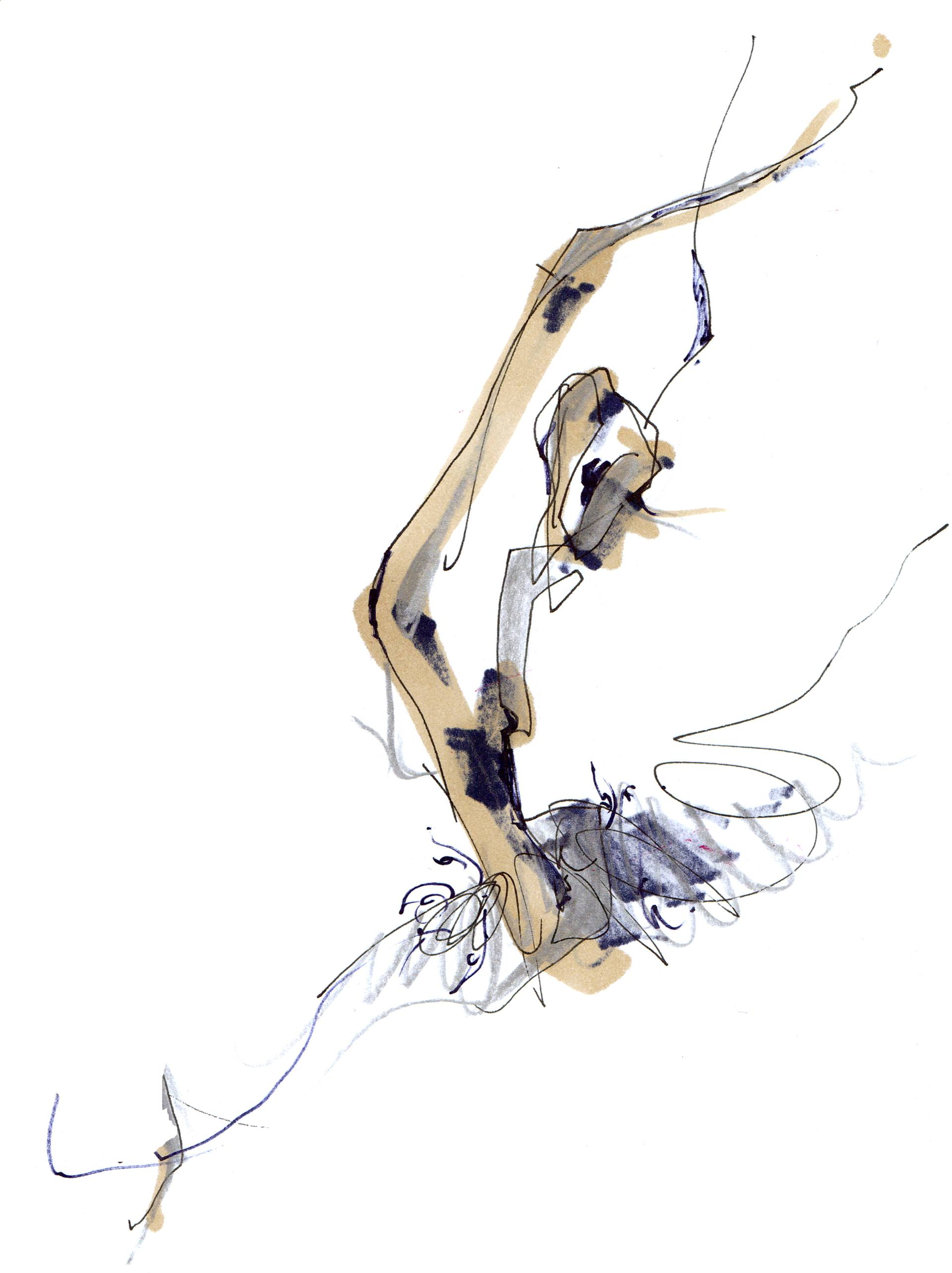1920x2567 Saatchi Art Sculpting Ballet Drawing By Hogto Louso