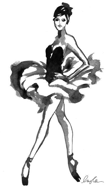 412x726 Tumblr Bailarina Dibujo