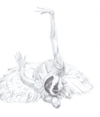 325x380 Ballet Drawings Buy Original Art Online