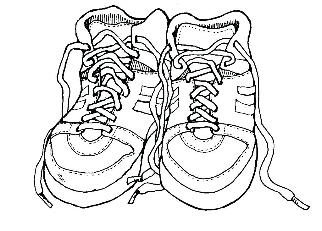 1024x735 Coloring Pages Shoes Well Fit Ballerina Shoes Coloring Pages