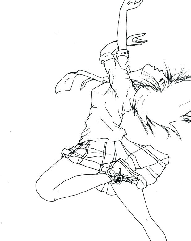 618x780 Dancer Coloring Pages Ballet Jazz Da On Dance Coloring Pages Toe