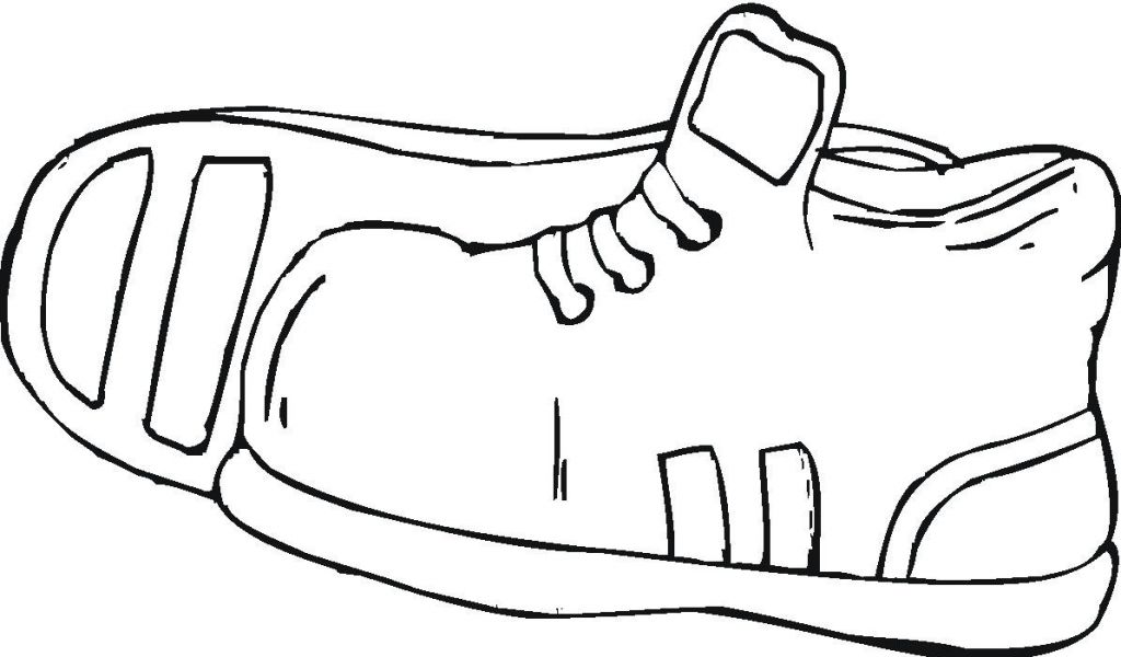 1024x600 coloring pages shoes printable516421