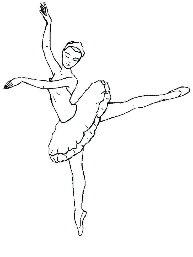 736x981 Ballerina Coloring Pages Couple Of Ballet Dancers Couple Of Ballet