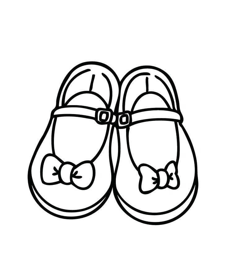 736x883 Coloring Pages Shoes Shoes Coloring Pages Coloring Home View