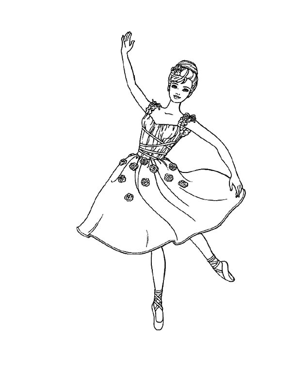 600x776 Printable Ballet Coloring Pages Coloring Me