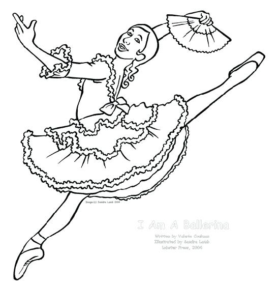 551x558 Ballet Coloring Pages Ballerina Coloring Pages Ballet Coloring