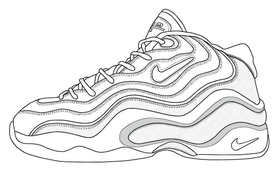 900x560 Shoes Coloring Page Synthesis.site