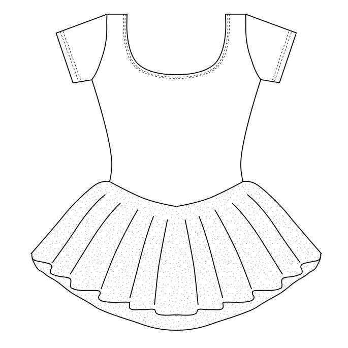 Ballet Tutu Drawing at GetDrawings.com | Free for personal ...