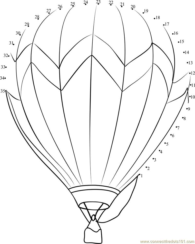 800x1000 Hot Air Balloon