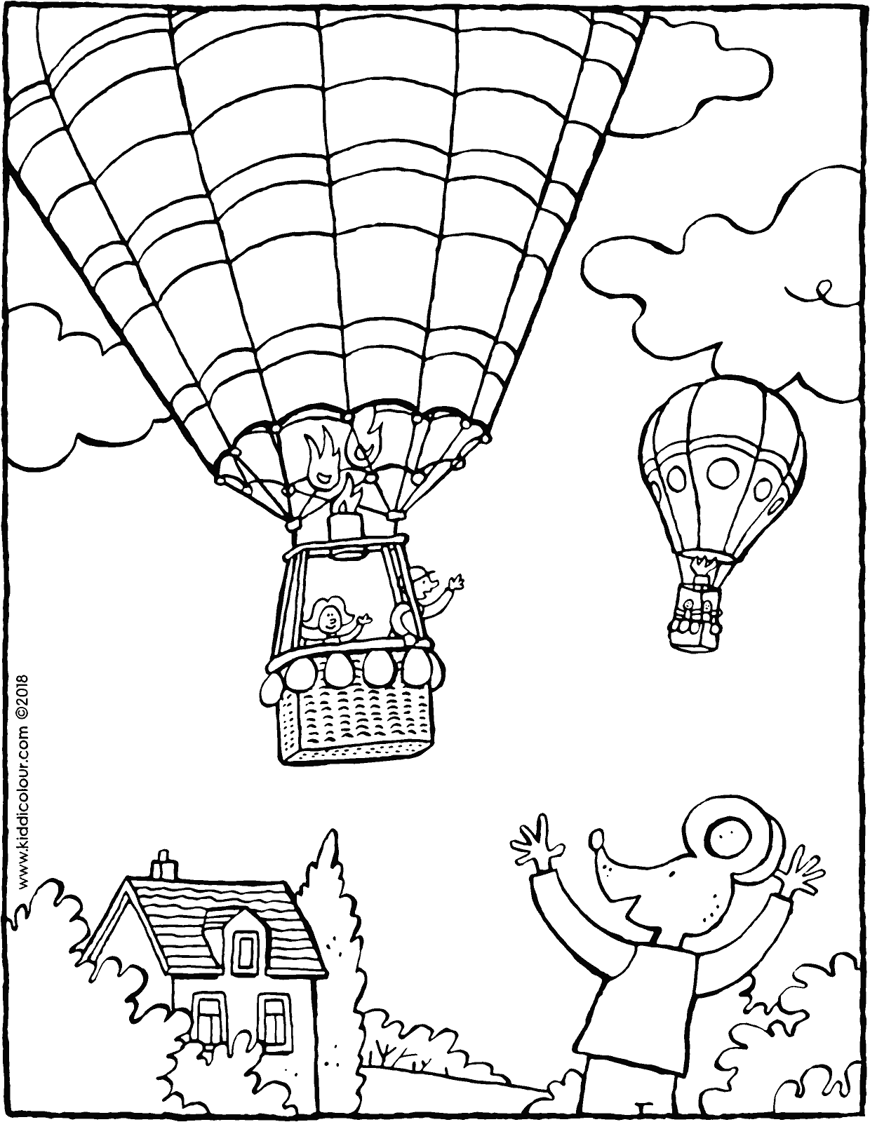 1240x1600 Thomas Waves To A Hot Air Balloon