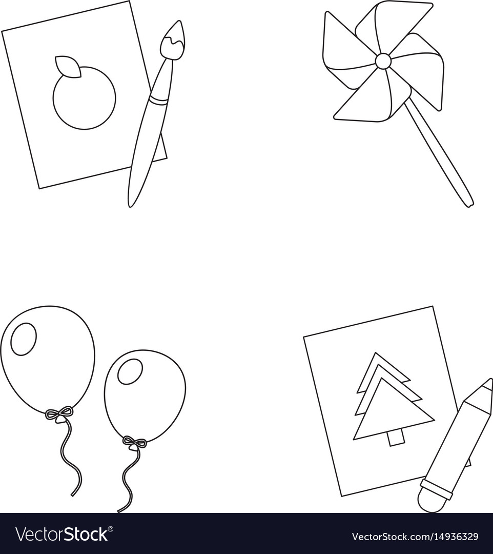 962x1080 Windmill Balloon Drawing