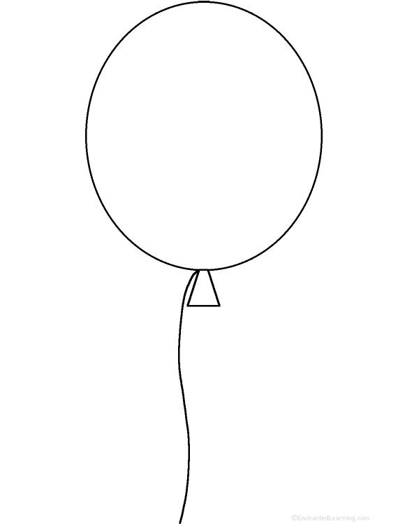 590x752 Drawn Lines Balloon