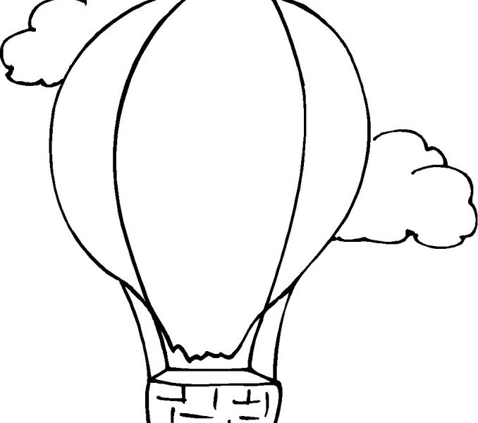 678x600 Pictures Balloon To Color 53 For Line Drawings With