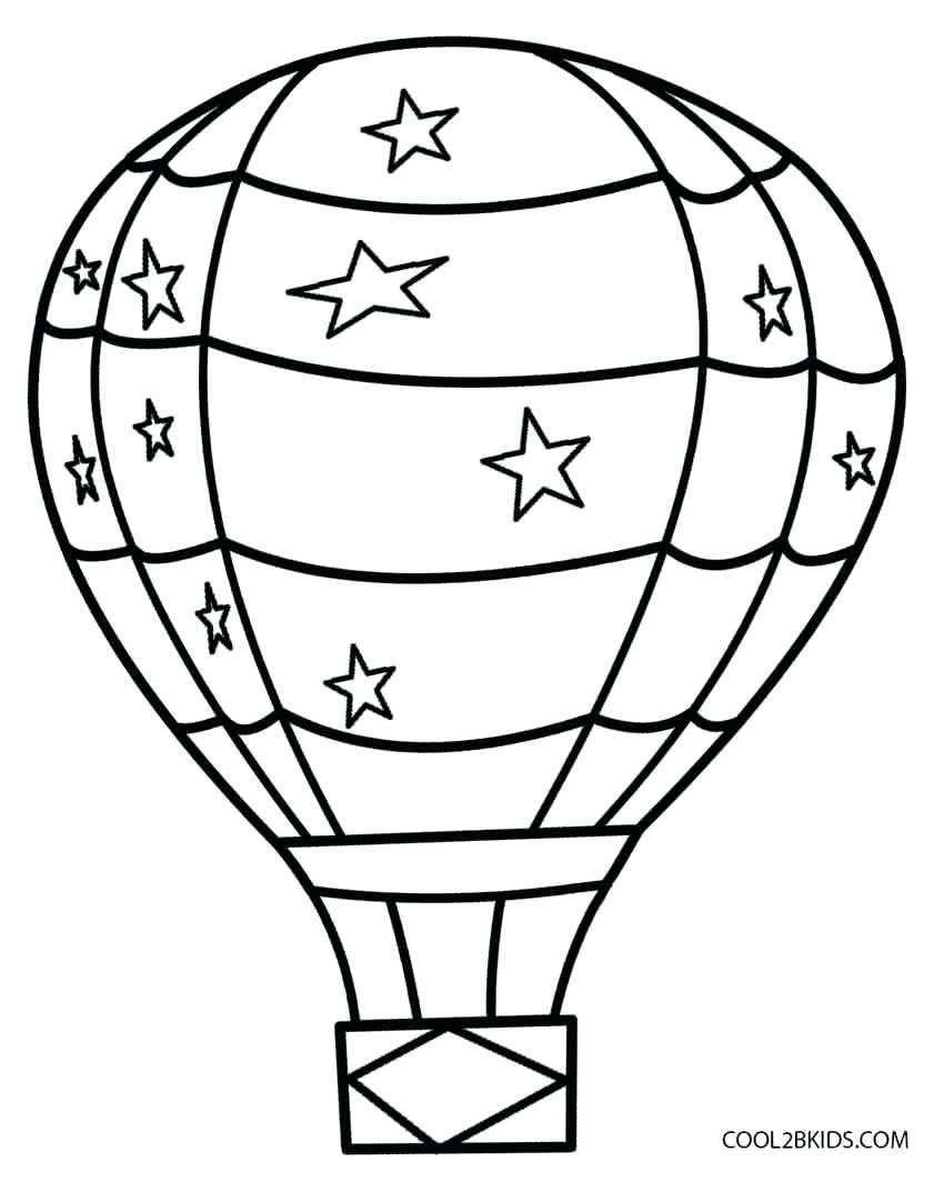 Balloon Outline Drawing at GetDrawings.com | Free for personal use ...